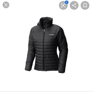 Columbia Powder Pillow Hybrid Jacket size small